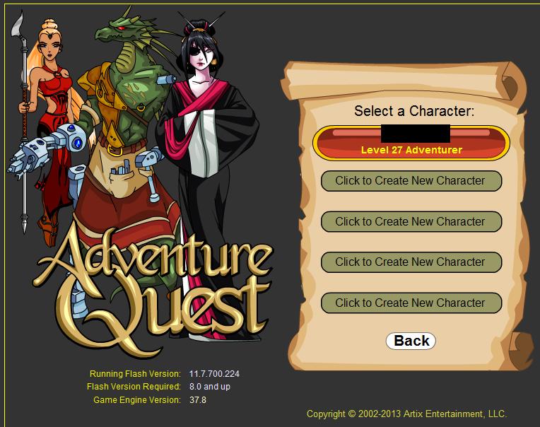 Adventure quest... Aq210
