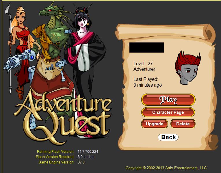 Adventure quest... Aq311