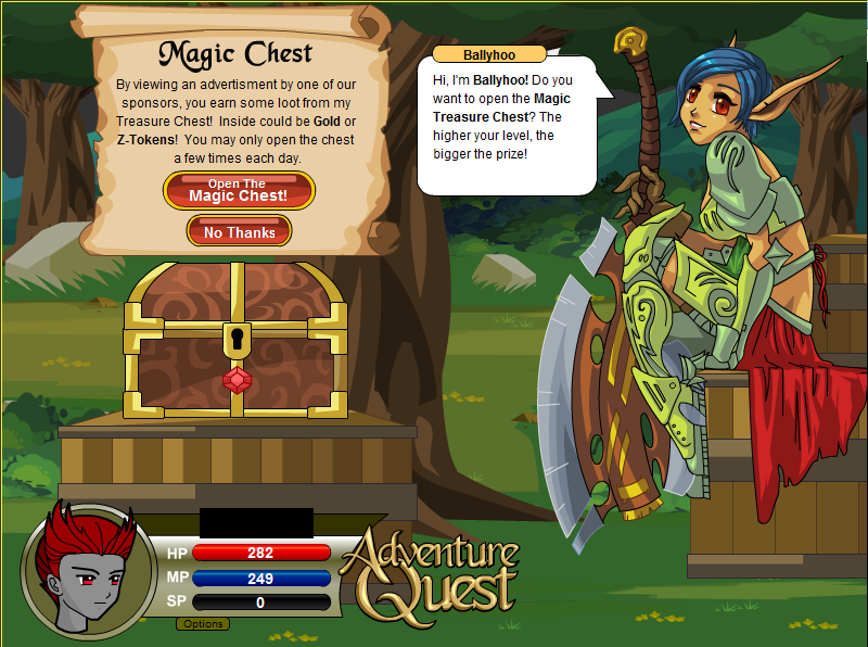 Adventure quest... Aq410