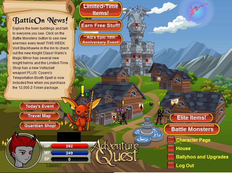 Adventure quest... Aq610