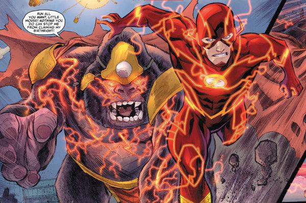 Si l'homme descend du singe, il peut aussi y remonter Flash-10