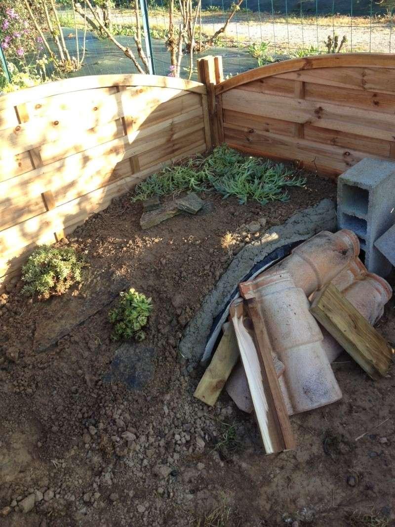 déménagement et construction du nouvel enclos Photo121