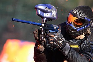 Challenge paintball, laser game