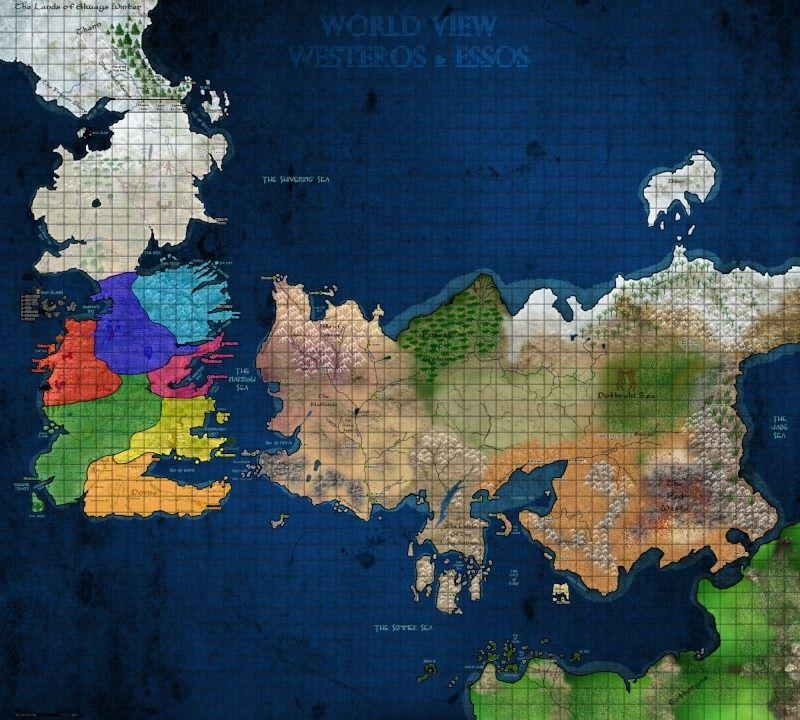 Game of Thrones jeu de plateau / jeu de role by Me Map_de10