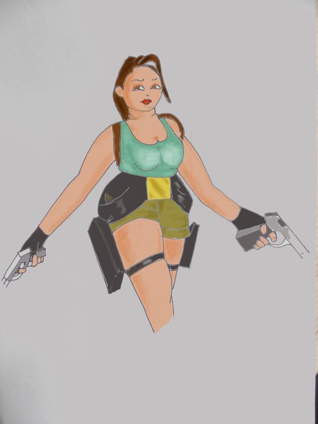 Les dessins de Véro12 Lara_c10