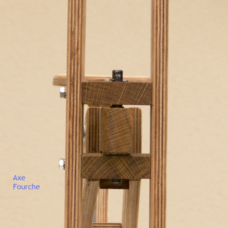 Fabrication d'une Draisienne 09-axe10