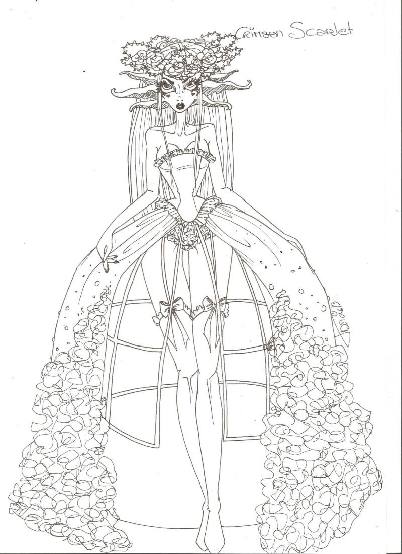 Spaceship-lolita Flora From secret Garden (essai face up P6) - Page 3 Crimso10