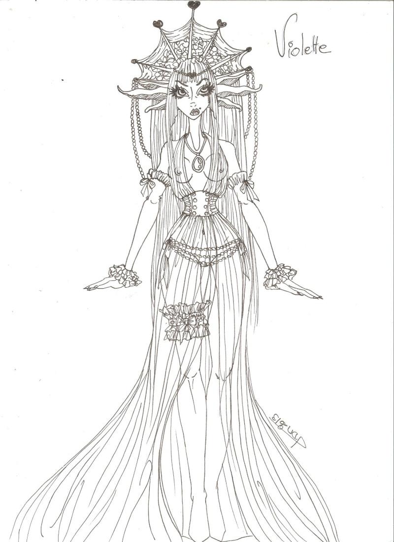 Spaceship-lolita Flora From secret Garden (essai face up P6) - Page 3 Violet10
