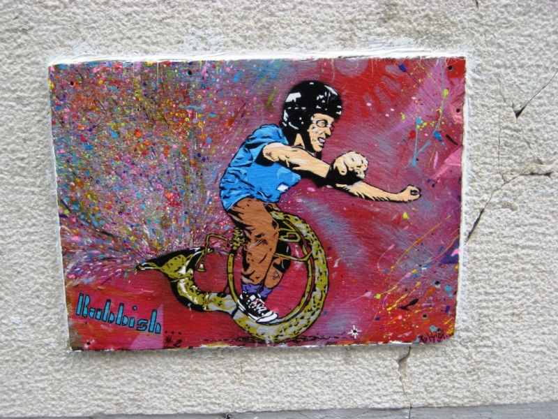 Best Street Art 2011  Rubbis10