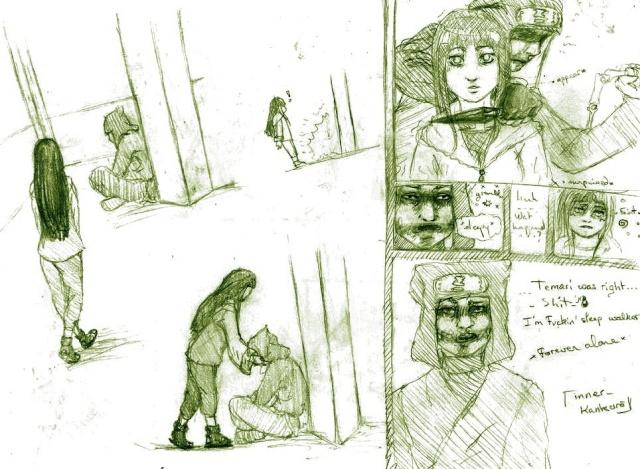Illustrations, sous forme de pages de BD/manga mal faites Illust11