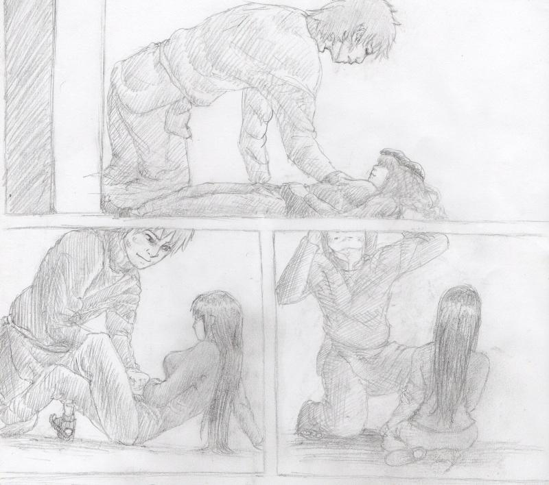 Illustrations, sous forme de pages de BD/manga mal faites Illust12