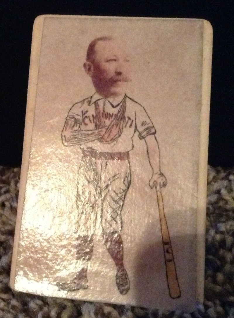 1890's Buck Ewing Ohio CDV?  114