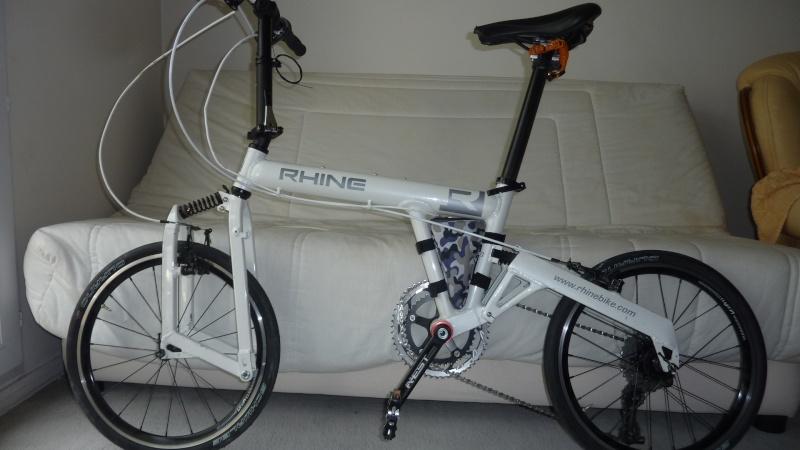 vends/échange vélo pliant ultra léger 10,5 kg, 18 v, roue 20p suspendu Velo113