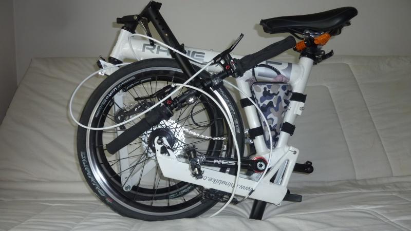 vends/échange vélo pliant ultra léger 10,5 kg, 18 v, roue 20p suspendu Velo311