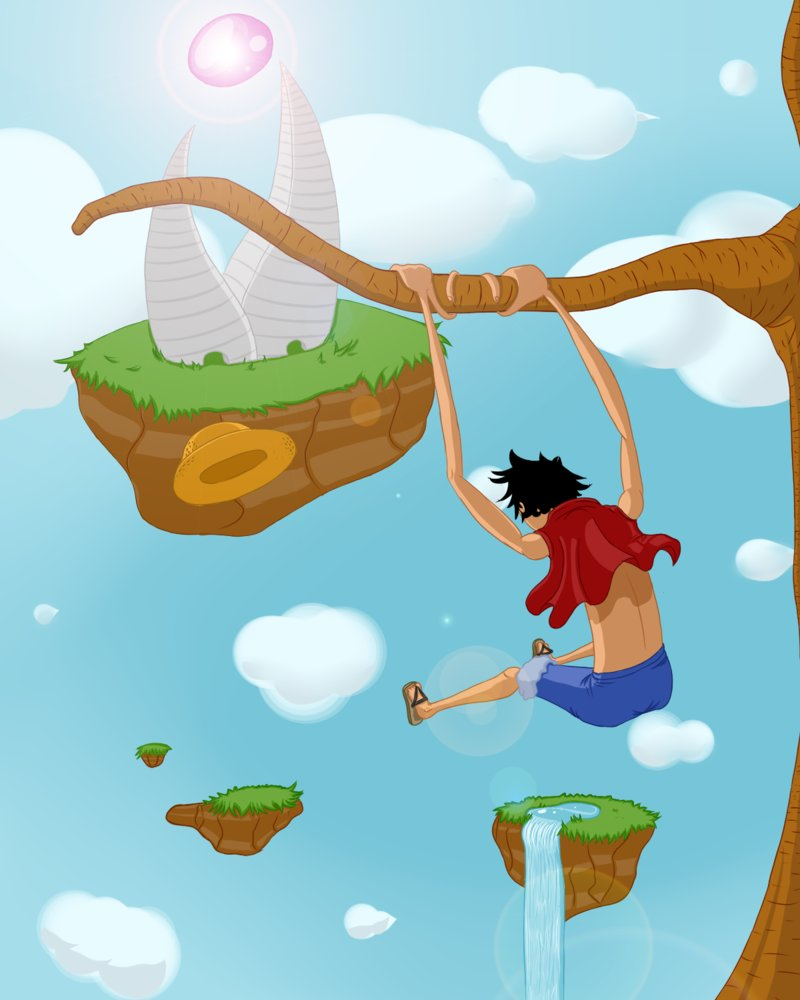 Artwork do aikex222 Luffy_10