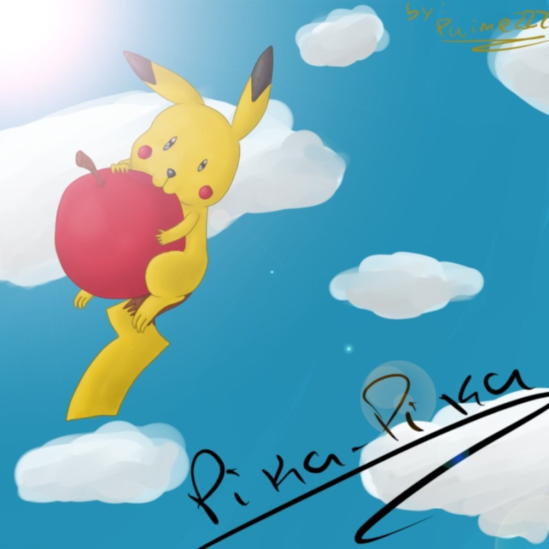 Artwork do aikex222 Pika_p10
