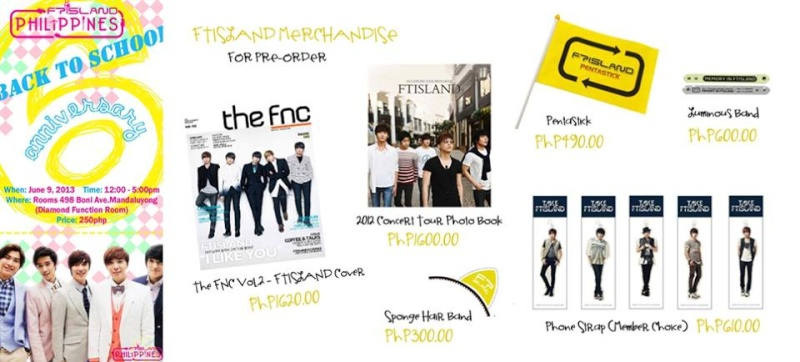[FANGATHERING || Metro Manila] FTISLAND's 6th Year Anniversary Party 94297811
