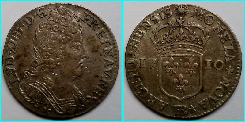 Monnaie Louis XIII - 1711 - BB 11_sol11