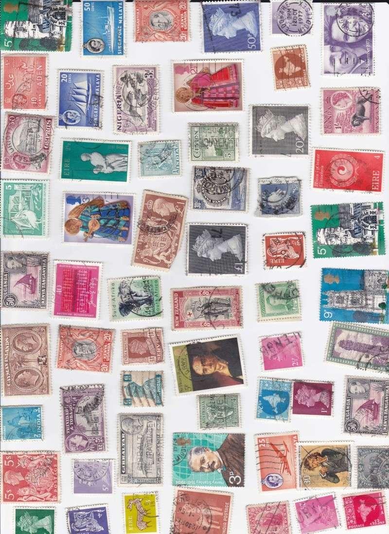 Briefmarken aus dem Ausland Marken10