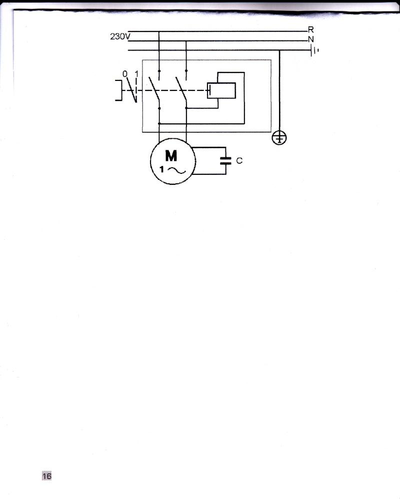 betonniere avec commande M/A  TRIPUS ou DISIMPEX   TP 3251 Symbol10