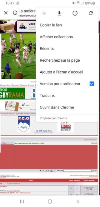 Le forum sur smartphone, tablette... Screen14