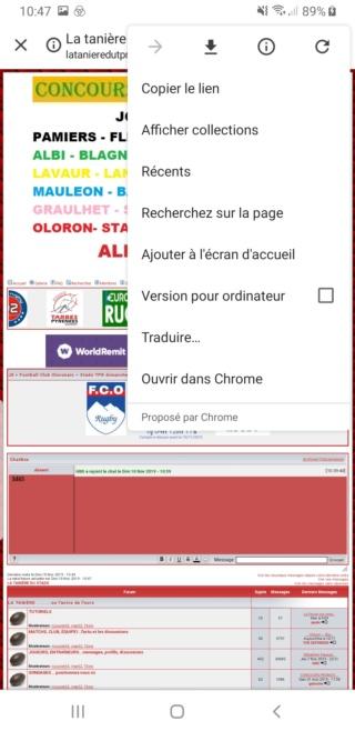 Le forum sur smartphone, tablette... Screen15