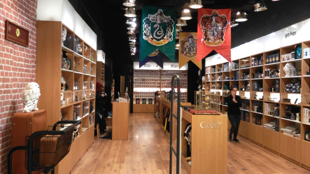 Boutique GeekStore Harry Potter sur Toulouse P_201911