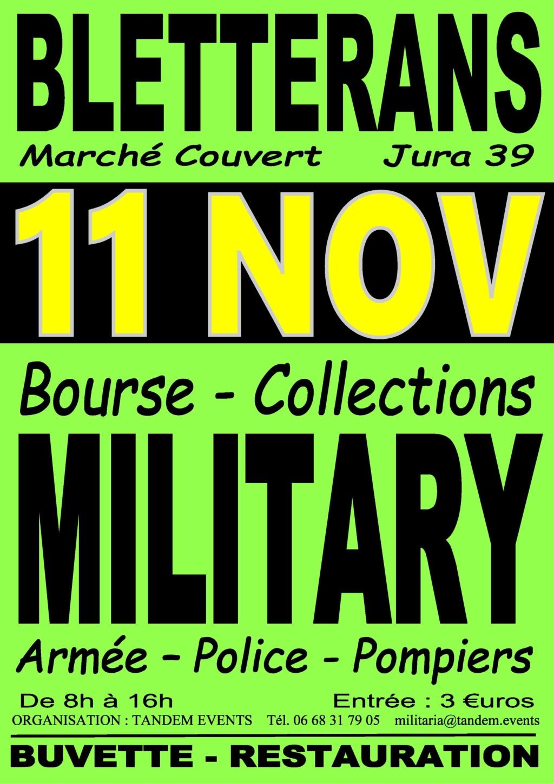 13e bourse military, armée, police, pompiers BLETTERANS (39) Blette10
