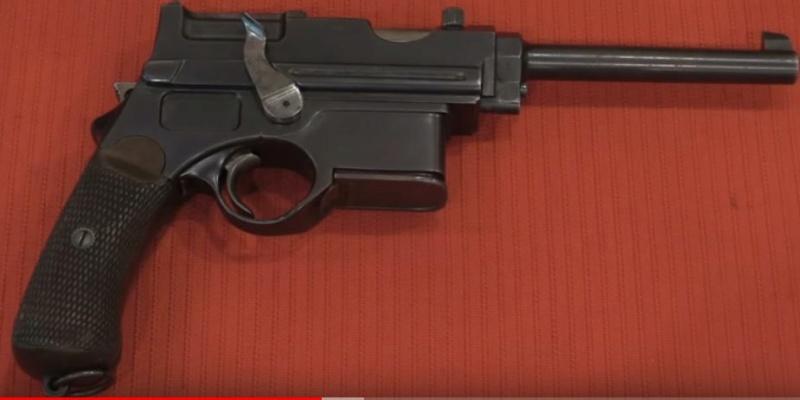 Armes des aviateurs allemands ww1  Mannli10
