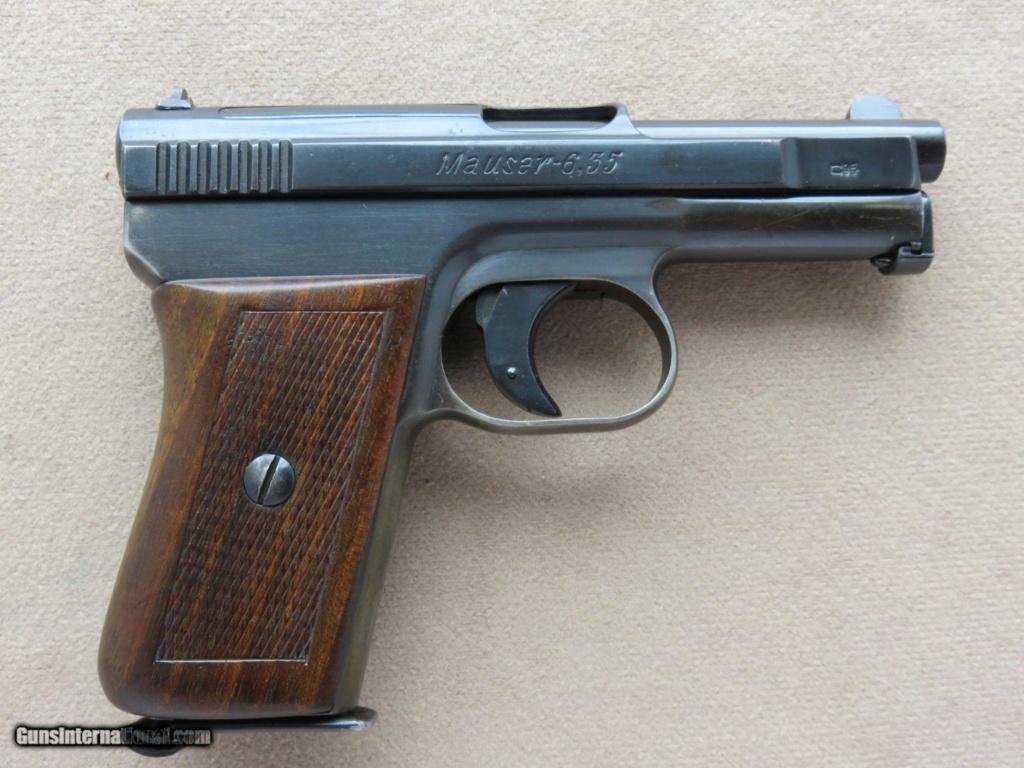 Pistolet à plomb ?  Mauser10