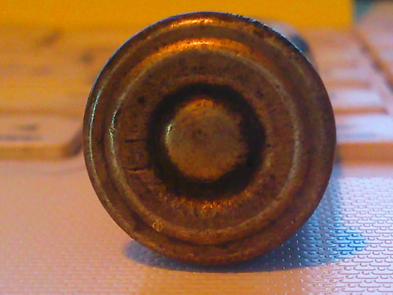 Identification cartouche étui laiton/balle plomb, sans marquages => cartouche pour Werder 1869 Photo755