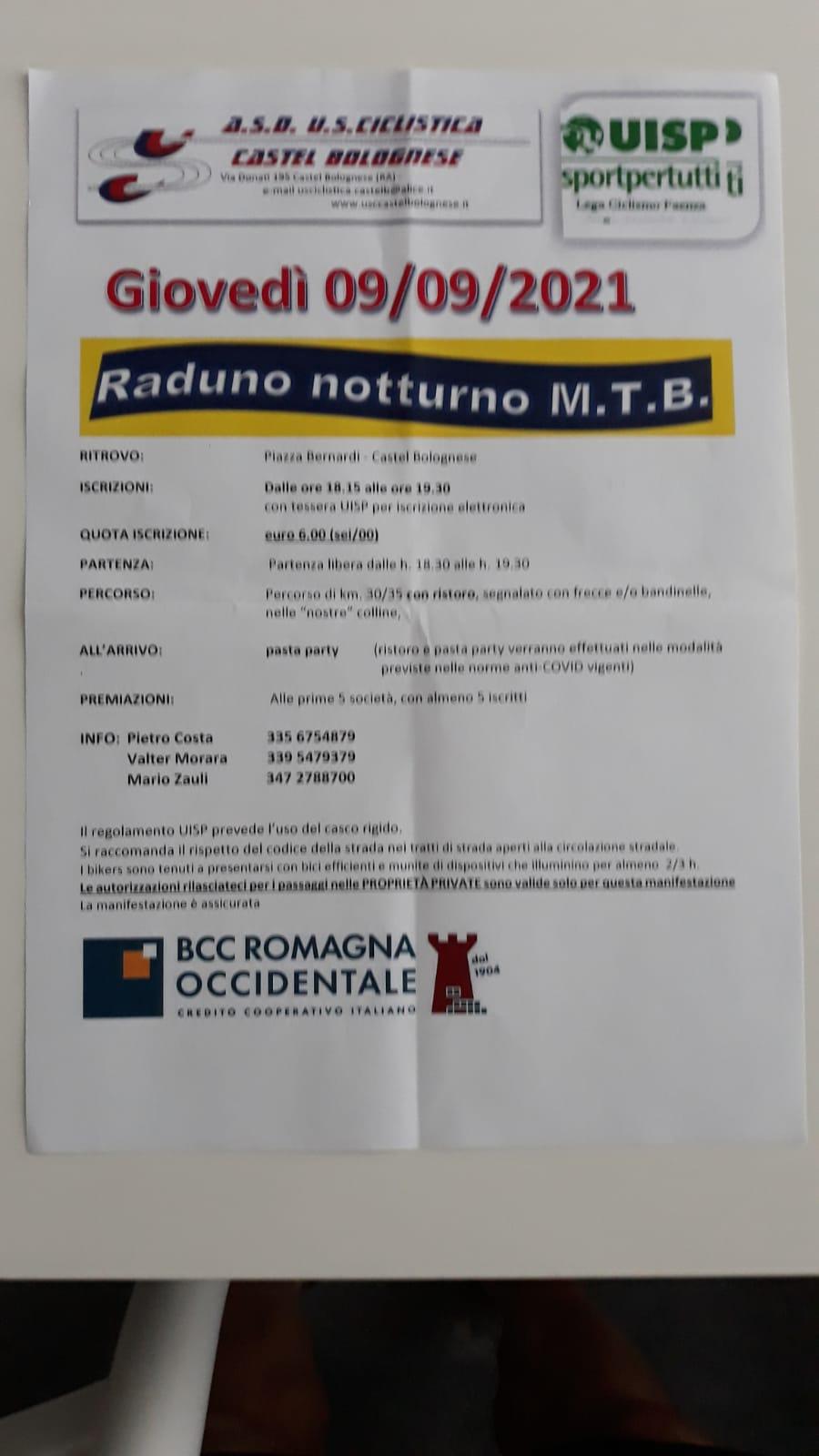 NOTTURNA MTB GIOVEDì 9/9/21 A13