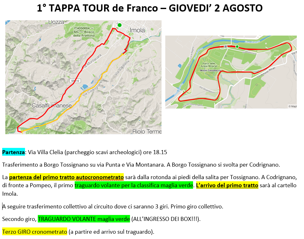 TOUR DE FRANCO 2018 Tourde10