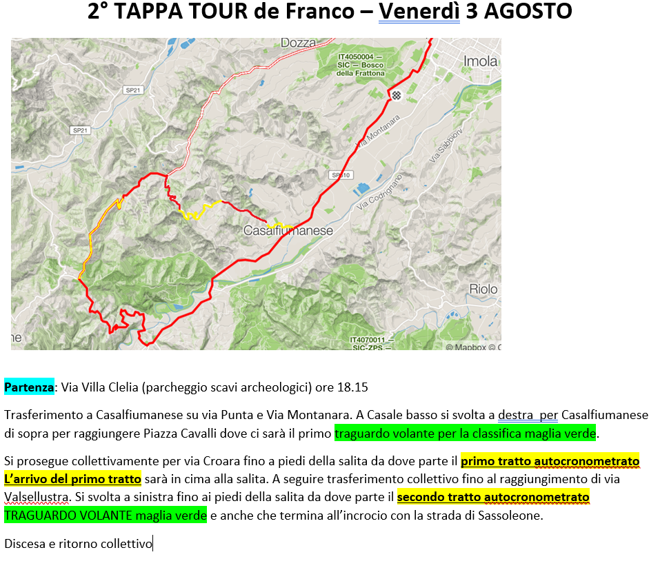 TOUR DE FRANCO 2018 Tourde11