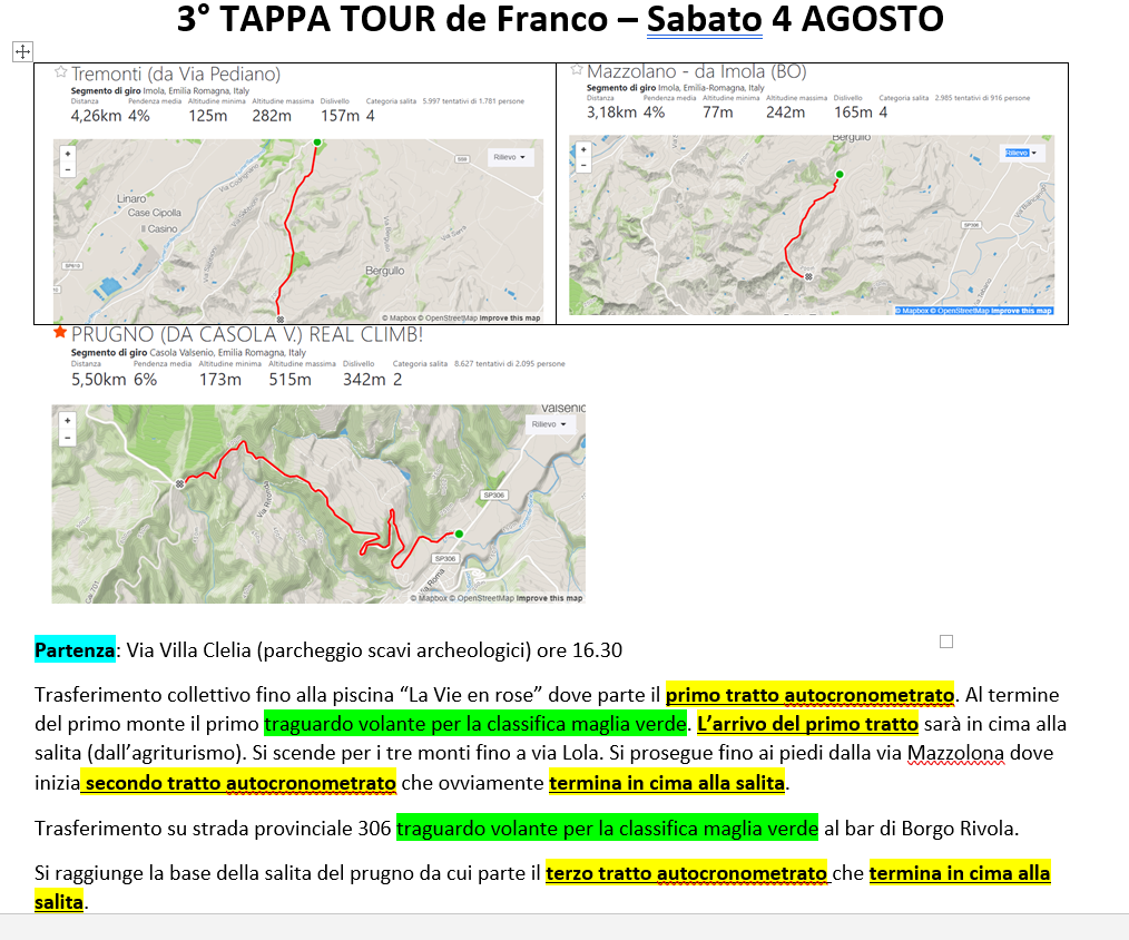 TOUR DE FRANCO 2018 Tourde12