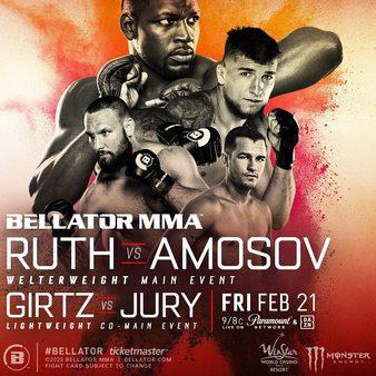 Bellator 239: Ruth vs. Amasov 74896410