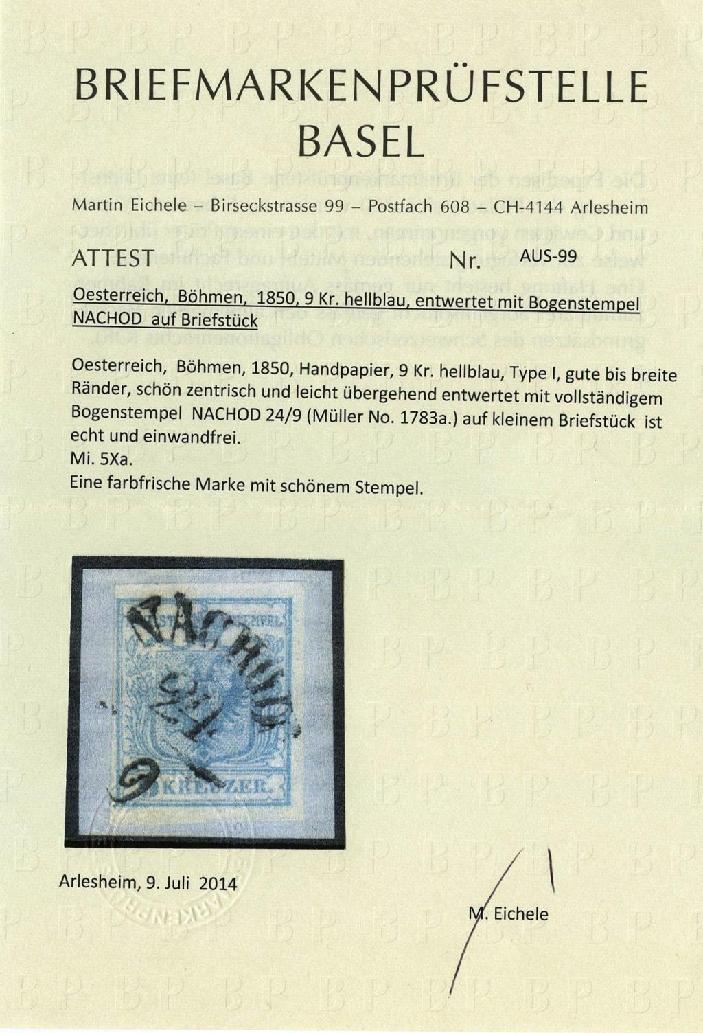 Die erste Österreichische Ausgabe 1850 - Seite 20 Ank_5_21