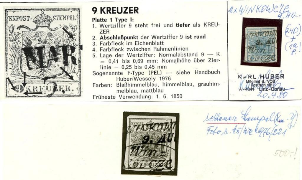 Die erste Österreichische Ausgabe 1850 - Seite 22 Ank_5_36