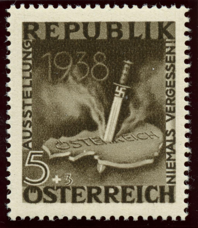Briefmarken - Österreich, Briefmarken der Jahre 1945-1949 Ank_7814