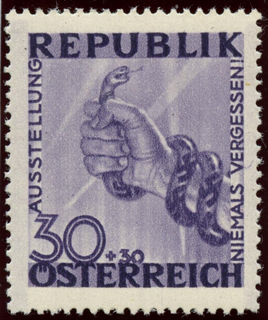 Briefmarken - Österreich, Briefmarken der Jahre 1945-1949 Ank_7820