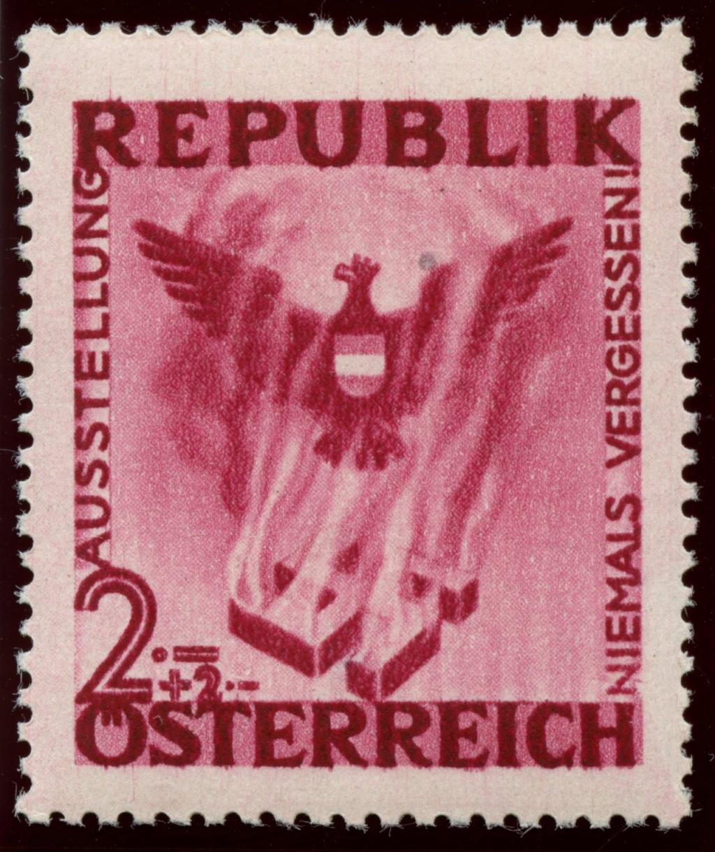 Briefmarken - Österreich, Briefmarken der Jahre 1945-1949 Ank_7910
