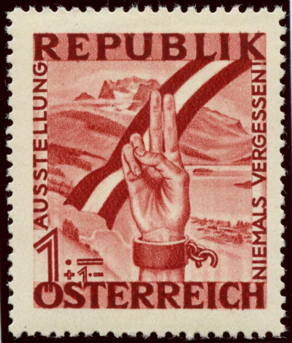 Briefmarken - Österreich, Briefmarken der Jahre 1945-1949 Ank_7911