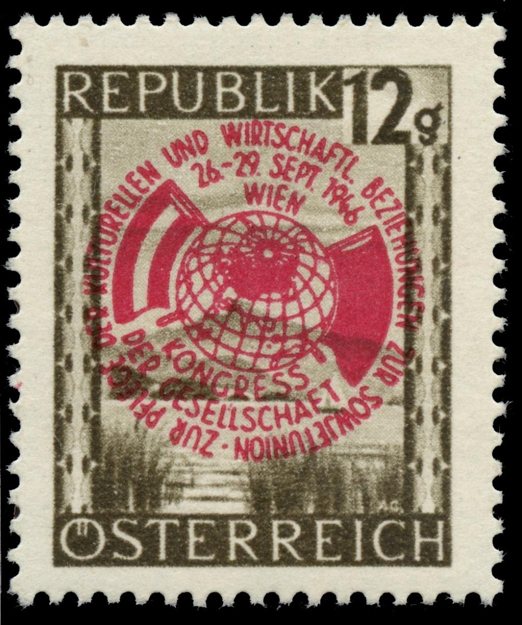 Briefmarken - Österreich, Briefmarken der Jahre 1945-1949 Ank_7912