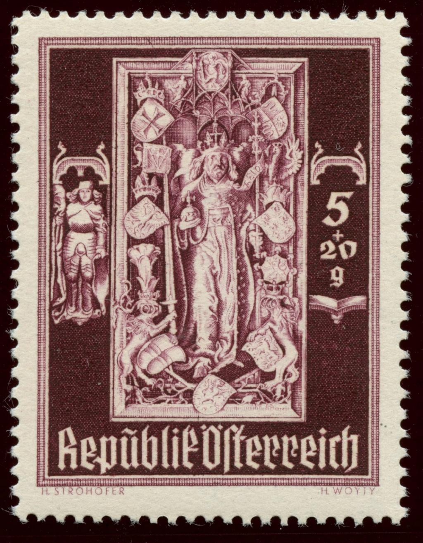 Briefmarken - Österreich, Briefmarken der Jahre 1945-1949 Ank_8010