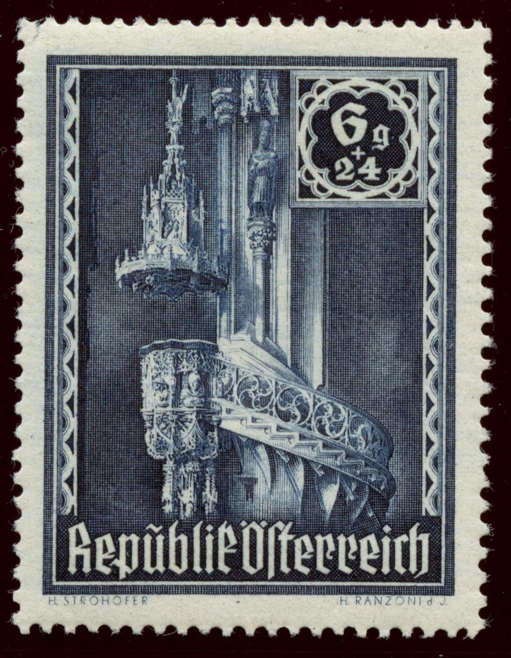 Briefmarken - Österreich, Briefmarken der Jahre 1945-1949 Ank_8011