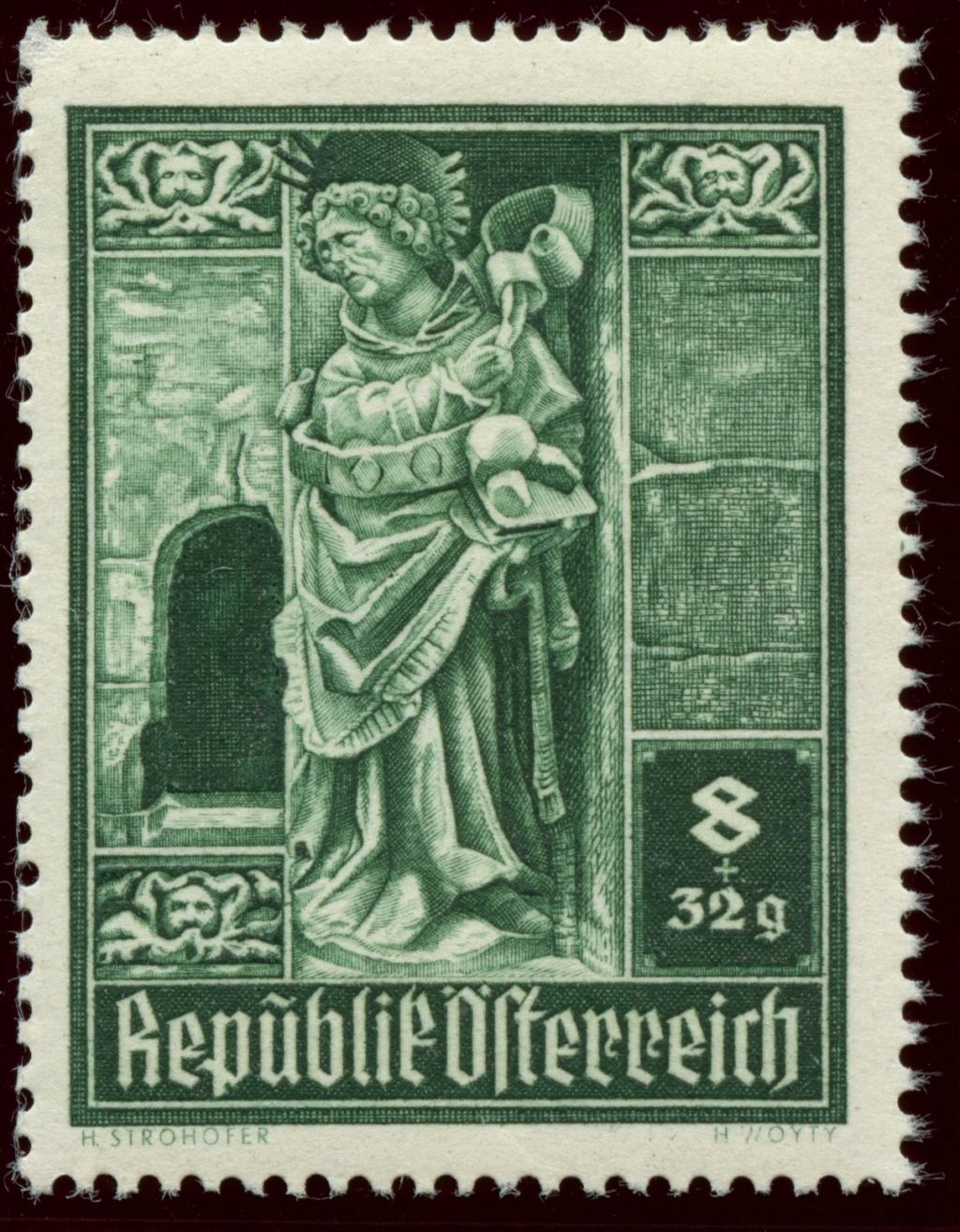 Briefmarken - Österreich, Briefmarken der Jahre 1945-1949 Ank_8012