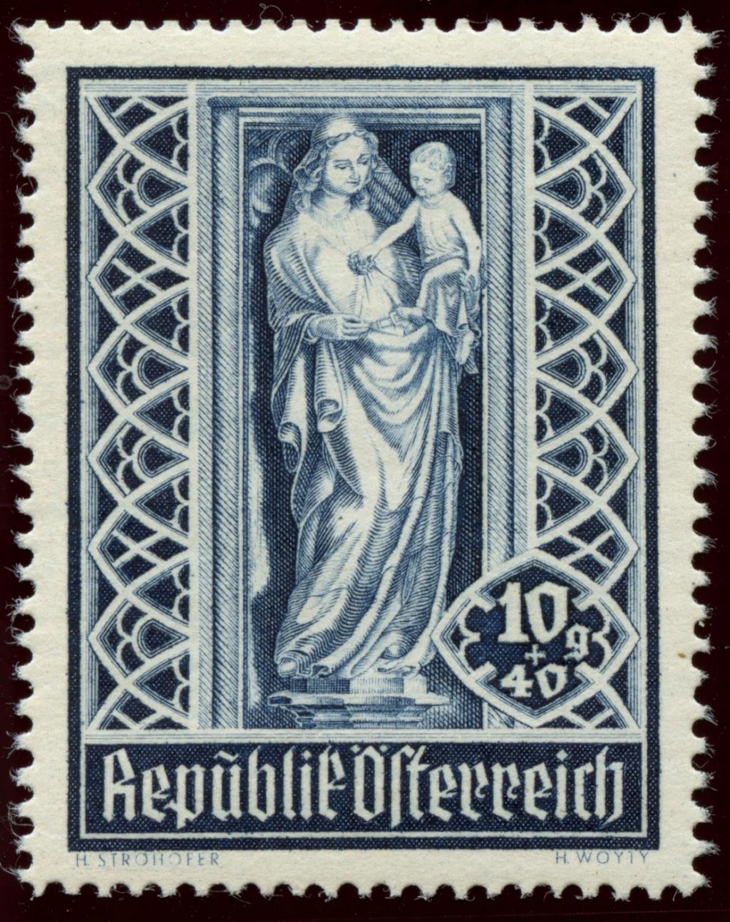 Briefmarken - Österreich, Briefmarken der Jahre 1945-1949 Ank_8013