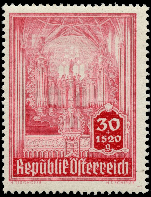 Briefmarken - Österreich, Briefmarken der Jahre 1945-1949 Ank_8014