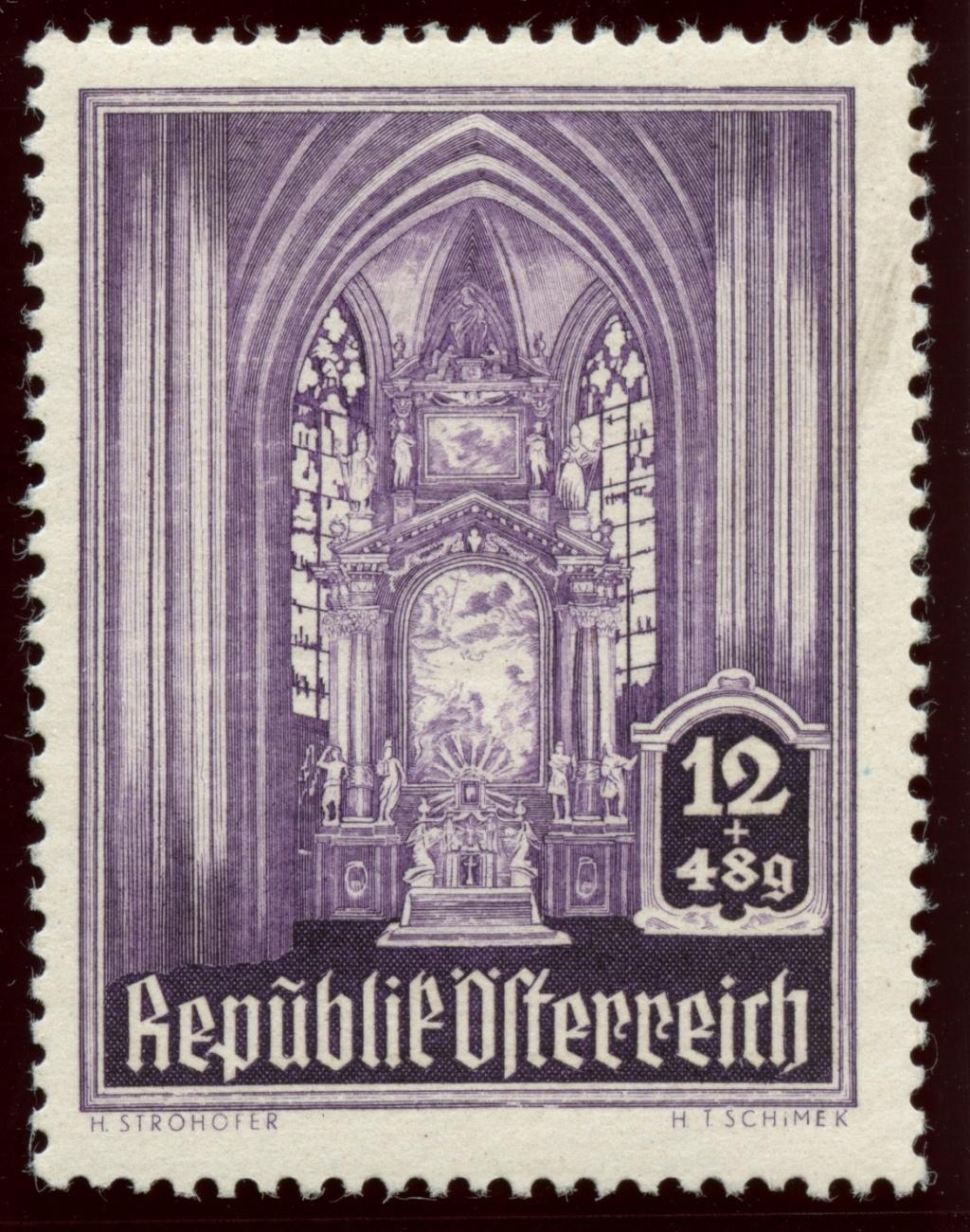 Briefmarken - Österreich, Briefmarken der Jahre 1945-1949 Ank_8015