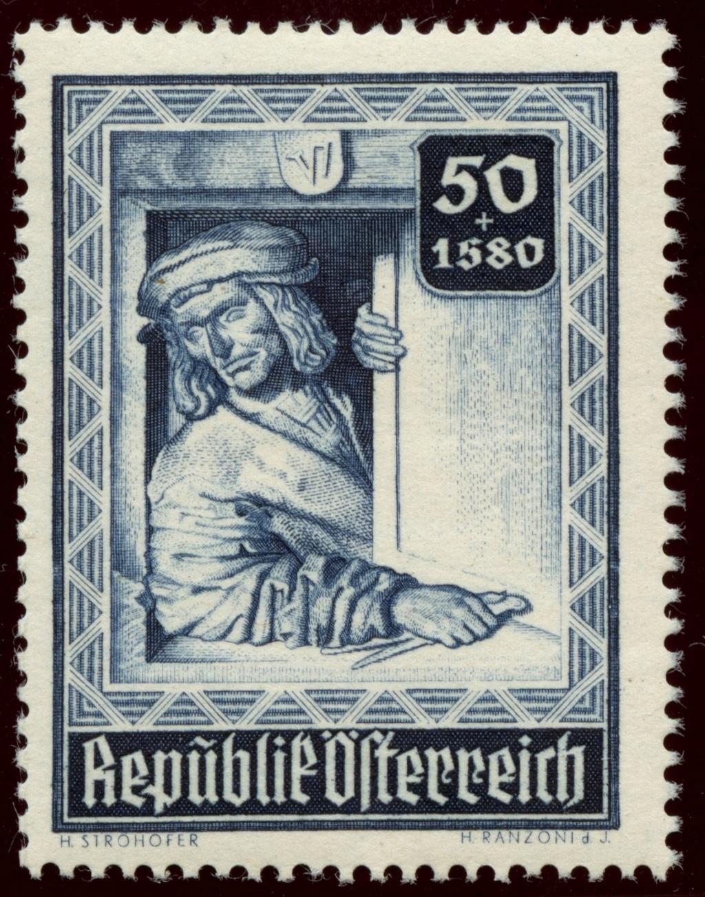 Briefmarken - Österreich, Briefmarken der Jahre 1945-1949 Ank_8016